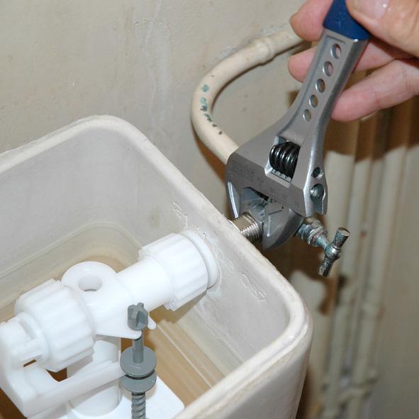 Réparation chasse d'eau