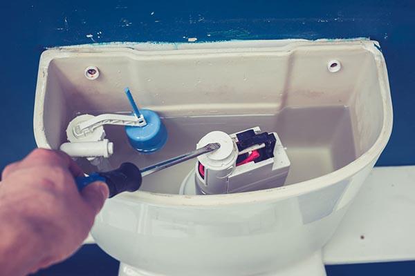 dépannage chasse d'eau